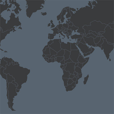 World map with the locations of the coating specialist Adelhelm Group of Companies